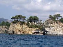 Agios Sostis island Royalty Free Stock Photography