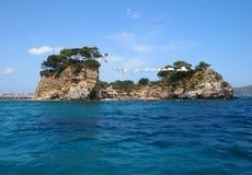 Agios Sostis island Royalty Free Stock Photos
