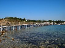 Agios Sostis island Royalty Free Stock Photography