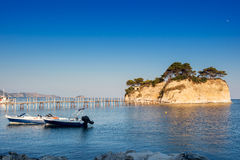 Agios Sostis, small island in Zakynthos Royalty Free Stock Photography