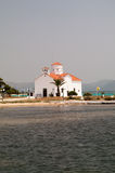 Agios Spiridonas Church, Elafonisos Island, Greece Royalty Free Stock Photo