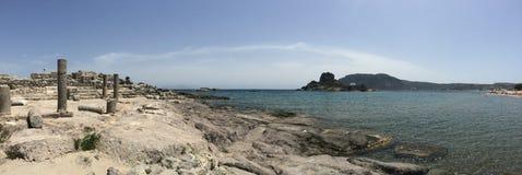 Agios stefanos beach, Kos Stock Image