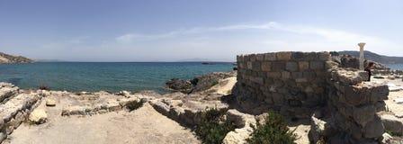 Agios stefanos beach, Kos Stock Photo