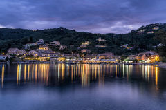 Agios Stefanos. Is small tourist resort on the north east coast of Corfu in the Ionian Sea of Greece Stock Photography
