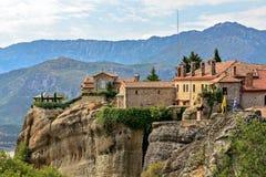Agios Stephanos Monastery a Meteora in Grecia immagine stock