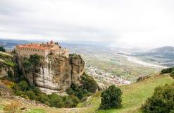 Agios Stephanos Monastery at Meteora, Greece Stock Photography