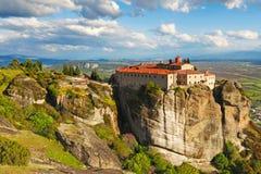 Agios Stephanos Monastery in Meteora, Greece Royalty Free Stock Photo