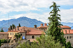 Agios Stephanos Monastery at Meteora in Greece Royalty Free Stock Images