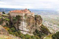 Agios Stephanos Monastery at Meteora Monasteries, Trikala region Stock Photography