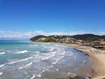 Agios Stephanous de Corfou photographie stock libre de droits