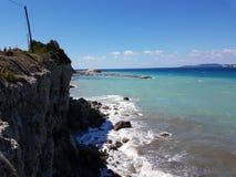 Agios Stephanous de Corfou image libre de droits