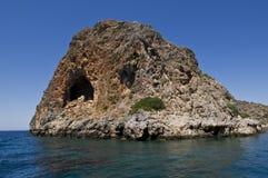 Agios Theodoros (Theodorou ö) nära Kreta, Grekland Royaltyfri Fotografi