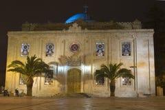 Agios Titos in Heraklion royalty free stock photo