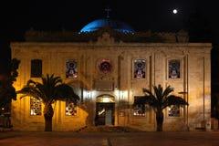 Agios Titos in Heraklion Crete royalty free stock image