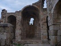Agiosfilonkyrka i karpasiahalvö Royaltyfria Bilder