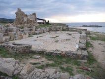 Agiosfilonkyrka i karpasiahalvö Arkivfoton