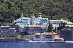 Agiou Panteleimonos monaster Zdjęcie Royalty Free