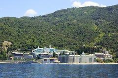 Agiou Panteleimonos monastery Royalty Free Stock Photo