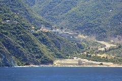 Agiou Pavlou monastery Royalty Free Stock Photography