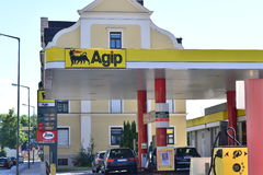 Agip Royalty Free Stock Photos