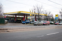Agip gas station Royalty Free Stock Image