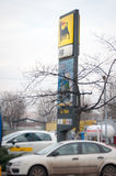 Agip gas station Stock Images