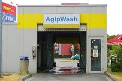 AgipWash Zdjęcia Stock