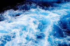 Agitação da água do mar Fotos de Stock Royalty Free