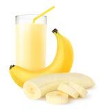 Agitação da banana imagens de stock royalty free