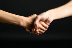 Agitação da mão Imagem de Stock