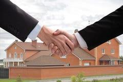 Agitação da mão. Imagem de Stock