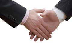 Agitação da mão do negócio Fotografia de Stock Royalty Free