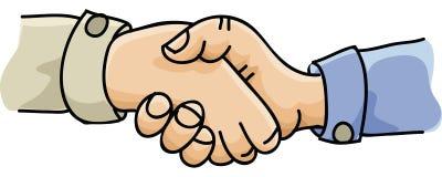 Agitação das mãos Fotografia de Stock Royalty Free