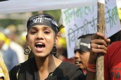 Agitação de Bhopal. Foto de Stock Royalty Free