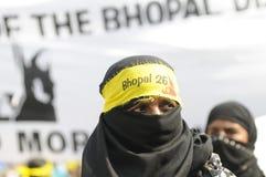 Agitação de Bhopal. Fotos de Stock Royalty Free
