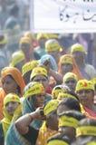 Agitação de Bhopal. Imagens de Stock Royalty Free