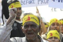 Agitação de Bhopal. Imagem de Stock