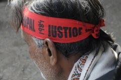 Agitação de Bhopal. Fotos de Stock