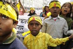 Agitação de Bhopal. Imagens de Stock