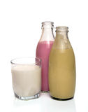 Agitação de leite fotos de stock royalty free