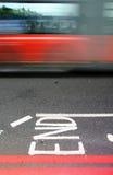 Agitação de Londres Foto de Stock