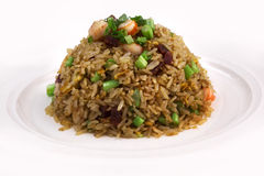 Agitação Fried Rice Fotos de Stock