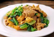 Agitação Fried Rice Noodle imagens de stock royalty free