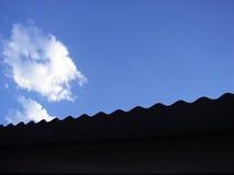 Agita el cielo Foto de archivo