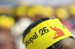 Agitación de Bhopal. Fotos de archivo libres de regalías