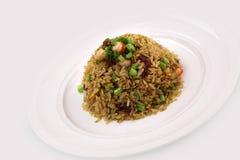 Agitación Fried Rice Foto de archivo libre de regalías