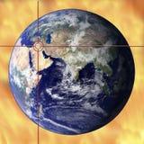 Agitación global Imagen de archivo libre de regalías