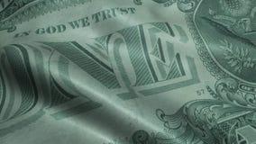Agitado cientos dólares Bill United States Banknotes Obverse almacen de video
