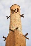 Agitando minaretes em Isfahan fotografia de stock royalty free