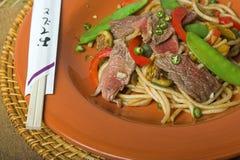 Agitar-frite com vegetais Fotos de Stock Royalty Free